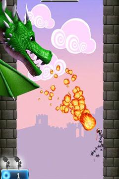 NinJump Deluxe - iPhone game screenshots. Gameplay NinJump Deluxe.