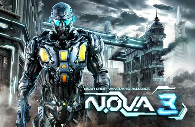 Screenshots of the N.O.V.A.  Near Orbit Vanguard Alliance 3 game for iPhone, iPad or iPod.