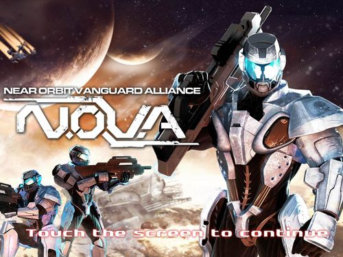 Screenshots of the N.O.V.A. - Near Orbit Vanguard Alliance game for iPhone, iPad or iPod.