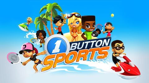 Screenshots of the One button sports game for iPhone, iPad or iPod.
