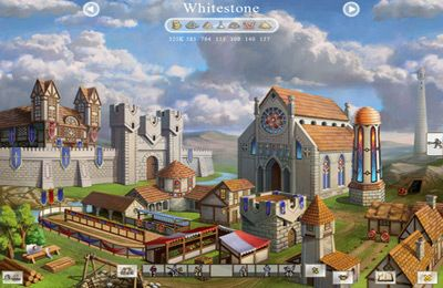 Screenshots of the Palm Kingdoms 2 Deluxe game for iPhone, iPad or iPod.