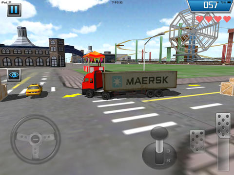 parking 3d truck iphone game free download ipa for ipad. Black Bedroom Furniture Sets. Home Design Ideas