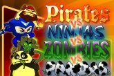 In addition to the game Madden NFL 25 for iPhone, iPad or iPod, you can also download Pirates vs. ninjas vs. zombies vs. pandas for free