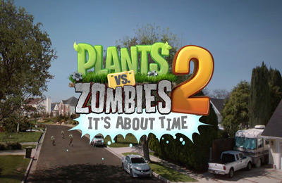 Screenshots of the Plants vs. Zombies 2 game for iPhone, iPad or iPod.