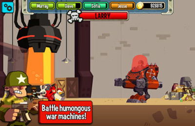 Screenshots of the Platoonz game for iPhone, iPad or iPod.