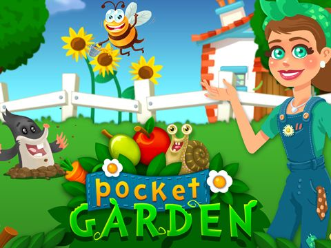 Download Pocket garden iPhone free game.