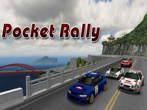 Download Pocket Rally iPhone free game.