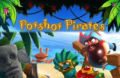 Screenshots of the Potshot Pirates game for iPhone, iPad or iPod.