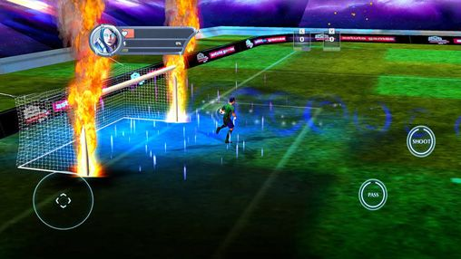 Screenshots of the Power soccer 2015 game for iPhone, iPad or iPod.