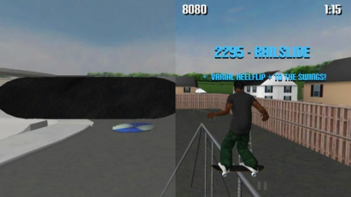 Screenshots of the Pure skate game for iPhone, iPad or iPod.
