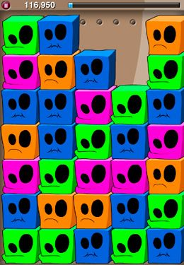 Screenshots of the QBeez game for iPhone, iPad or iPod.
