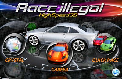 Screenshots of the Race illegal: High Speed 3D game for iPhone, iPad or iPod.