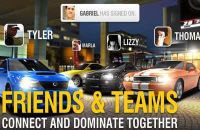 Screenshots of the Racing Rivals game for iPhone, iPad or iPod.