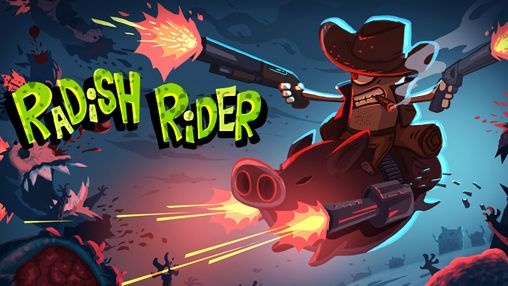 Download Radish rider iPhone free game.
