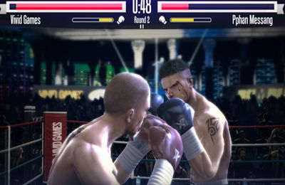 Screenshots of the Real Boxing game for iPhone, iPad or iPod.