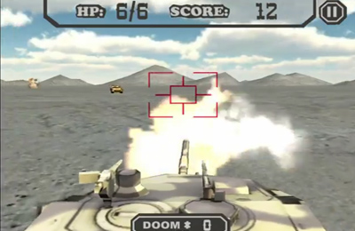 Screenshots of the Real Tank game for iPhone, iPad or iPod.
