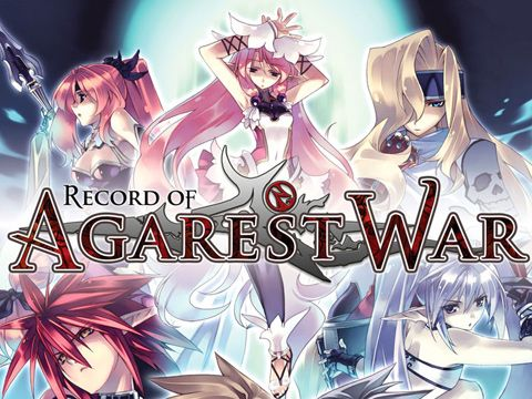 Download Record of Agarest war iPhone free game.