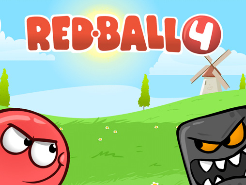 Download Red ball 4 iPhone free game.