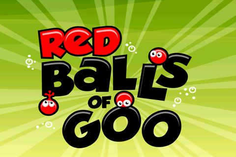Download Red balls of Goo iPhone free game.
