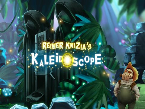Screenshots of the Reiner Knizia's Kaleidoscope game for iPhone, iPad or iPod.