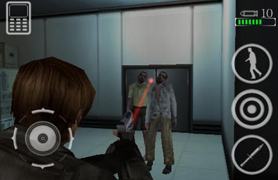 Screenshots of the Resident Evil: Degeneration game for iPhone, iPad or iPod.