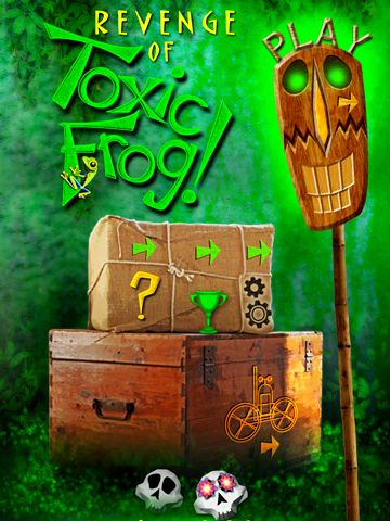 Download Revenge of toxic frog iPhone free game.