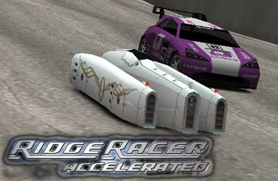 Screenshots of the RIDGE RACER ACCELERATED game for iPhone, iPad or iPod.
