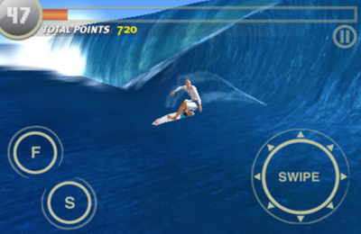 Screenshots of the Rip Curl Surfing Game (Live The Search) game for iPhone, iPad or iPod.