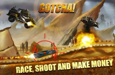 Screenshots of the Road Warrior Multiplayer Racing game for iPhone, iPad or iPod.