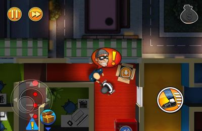 Screenshots of the Robbery Bob game for iPhone, iPad or iPod.