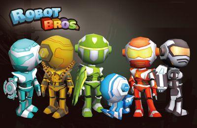 Download Robot Bros iPhone free game.