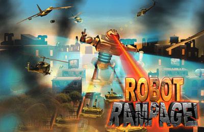 Download Robot Rampage iPhone free game.