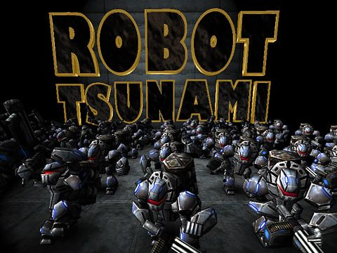Screenshots of the Robot Tsunami game for iPhone, iPad or iPod.