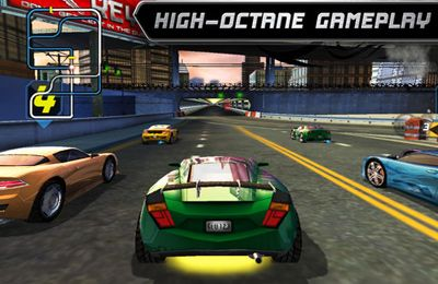 Rogue Racing - iPhone game screenshots. Gameplay Rogue Racing.