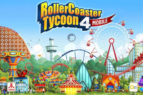 Download Rollercoaster tycoon 4: Mobile iPhone free game.
