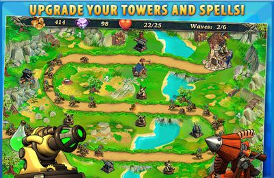 Screenshots of the Royal Defense game for iPhone, iPad or iPod.