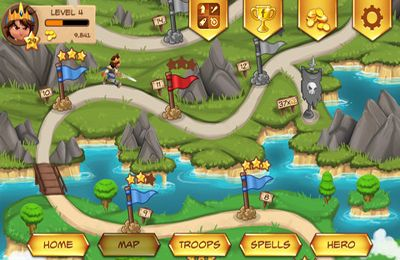 Screenshots of the Royal Revolt! game for iPhone, iPad or iPod.