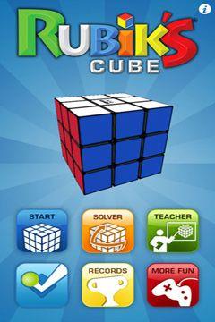 Screenshots of the Rubik's Cube game for iPhone, iPad or iPod.