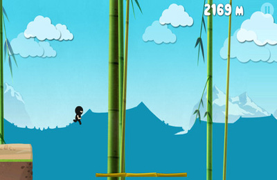 Screenshots of the Run Ninja Run game for iPhone, iPad or iPod.