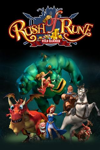 Download Rush of rune iPhone free game.