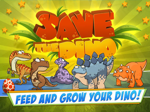 Download Save The Dino iPhone free game.