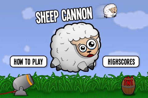 Screenshots of the Sheep cannon: Have a blast! game for iPhone, iPad or iPod.