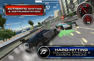 Screenshots of the Need for Speed SHIFT 2 Unleashed (World) game for iPhone, iPad or iPod.