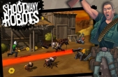 In addition to the game Black Shark HD for iPhone, iPad or iPod, you can also download Shoot Many Robots for free