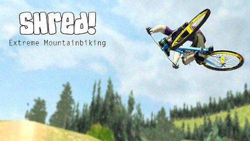 Download Shred! Extreme mountain biking iPhone free game.