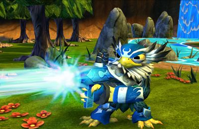 Screenshots of the Skylanders Battlegrounds game for iPhone, iPad or iPod.