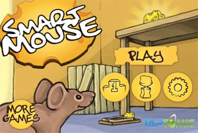 Screenshots of the Smart Mouse game for iPhone, iPad or iPod.