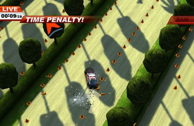 Screenshots of the Smash cops game for iPhone, iPad or iPod.