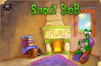 Screenshots of the Snail Bob game for iPhone, iPad or iPod.
