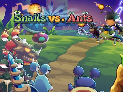 Download Snails vs. ants iPhone free game.